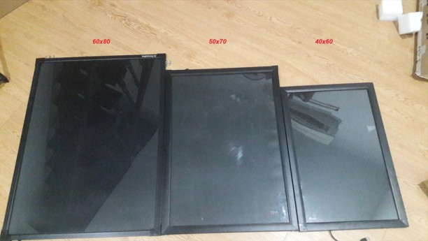 Các size bảng led huỳnh quang hiện có trên thị trường