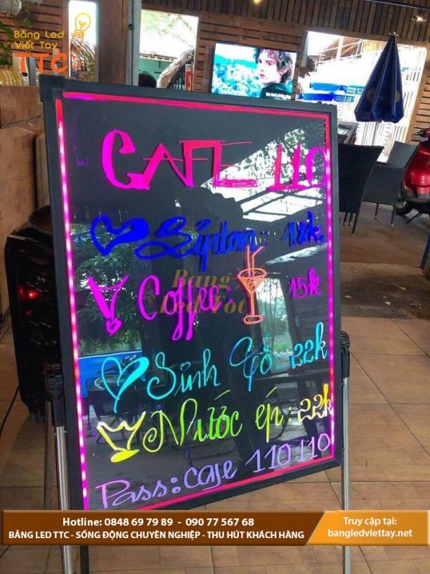 Địa chỉ cung cấp bảng led viết tay giá rẻ