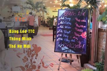 Bảng led viết tay kích thước lớn giá rẻ tại TPHCM 80x120 cm